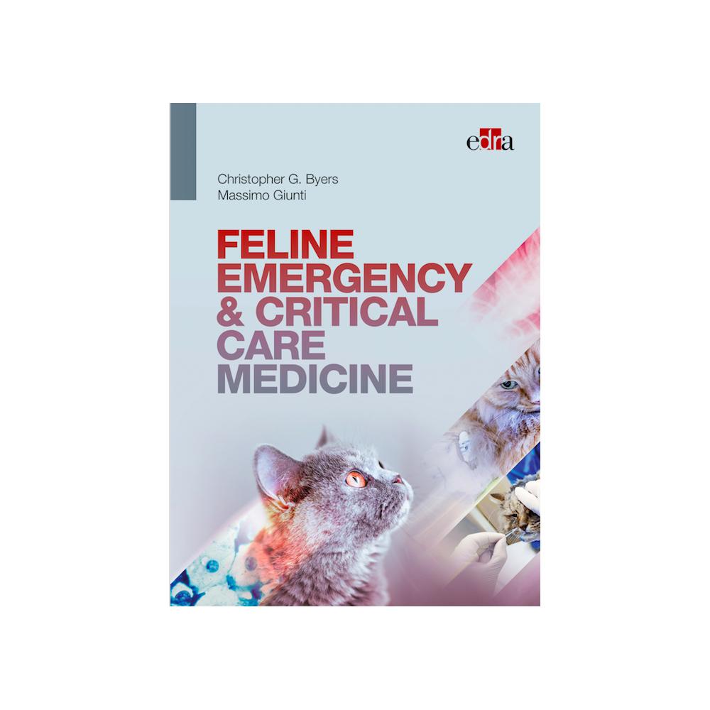 Feline Emergency & Critical Care - book cover - veterinary book