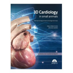 3D Cardiology in Small Animals - Book Cover - Veterinary Book