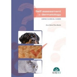 Self-assessment in Dermatology - book cover - veterinary book