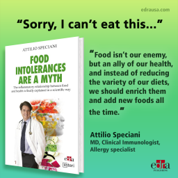 Food Intollerance are a myth -  The inflammatory relationship between food and health is finally explained in a scientific way