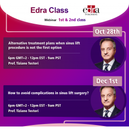 How to avoid complications in sinus lift surgery - Live Dentistry Webinar