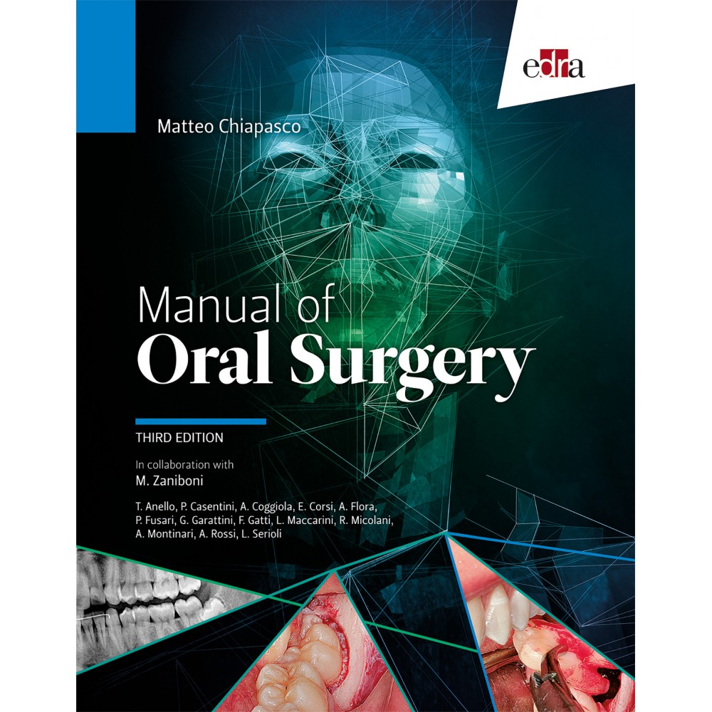Manual of oral surgery. III Edition - book cover - dentistry book