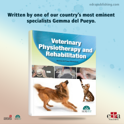 Veterinary physiotherapy and rehabilitation - Book Cover - veterinary book