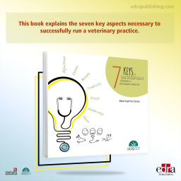 7 Keys to Successfully Running a Veterinary Practice - Book cover - veterinary book