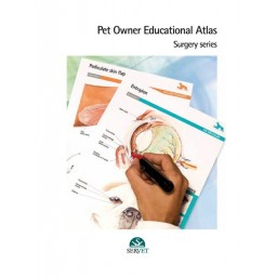 Pet Owner Educational Atlas. Surgery - book cover - veterinary book