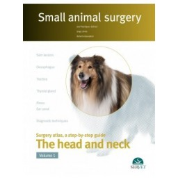 The head and neck. Vol. I - Small animal surgery - Book Cover - Veterinary Book
