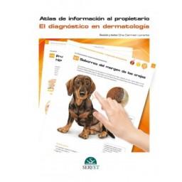 El diagnóstico en dermatología. Atlas de información al propietario