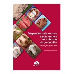 Inspección ante mortem y post mortem en animales de producción