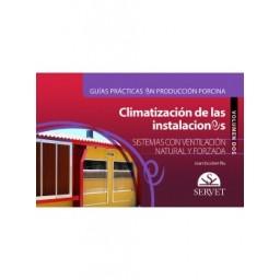 Guías prácticas en producción porcina.Climatización de las instalaciones.Volumen II: Sistemas con ventilación natural y forzada
