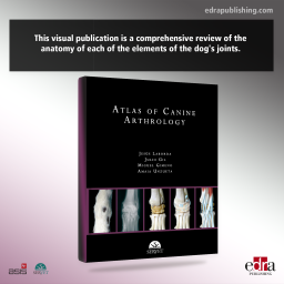 Atlas of canine arthrology. First Edition - book cover - veterinary book