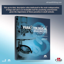 Atlas of Parasitological Diagnosis in Dogs and Cats. Endoparasites - book cover - veterinary book