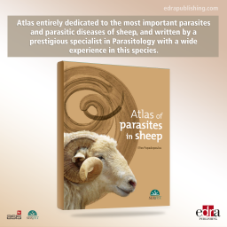 Atlas of Parasites in Sheep - book cover - veterinary book