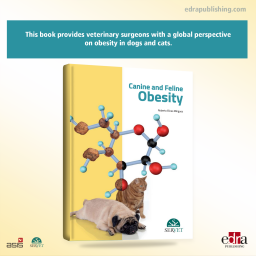 Canine and feline obesity - book cover - veterinary book