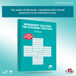 Management Solutions for Veterinary Practices - book cover - veterinary book
