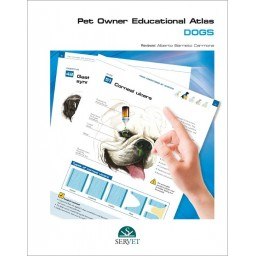 Pet Owner Educational Atlas. Dogs - Book Cover - Veterinary Book