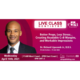 Live Dentistry Webinar - Continuing Education -