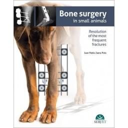 Bone surgery in small animals - Book cover - Veterinary Book