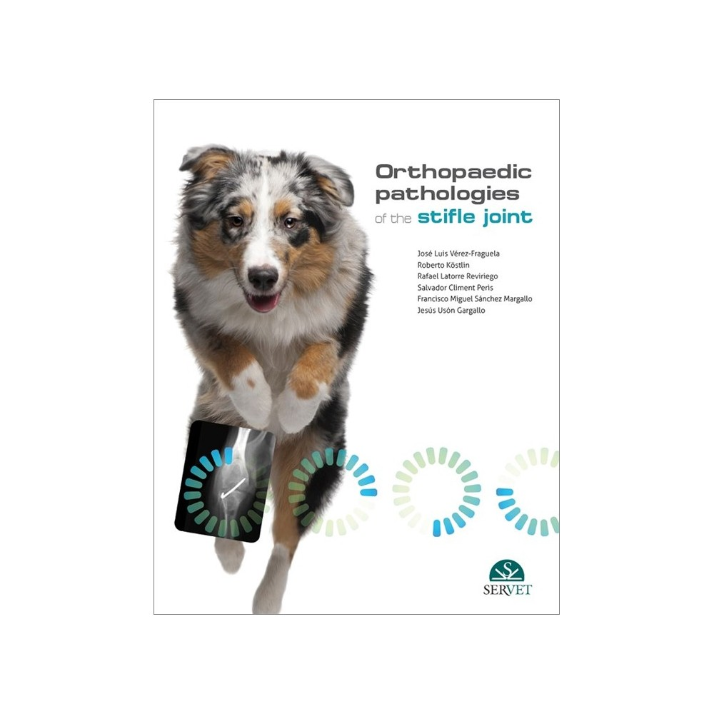 Orthopaedic pathologies of the Stifle Joint - Book Cover - veterinary book